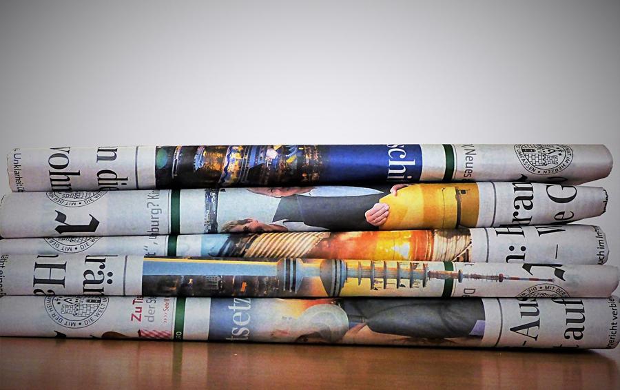 Zeitungs und Printanzeigen für Dachau und München